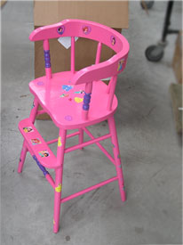 Princess Chair Side View