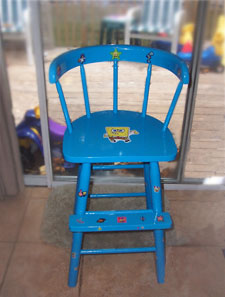 Hand Painted Youth Chair